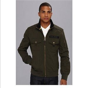 US Army Authentic Apparel Group Mens Jacket